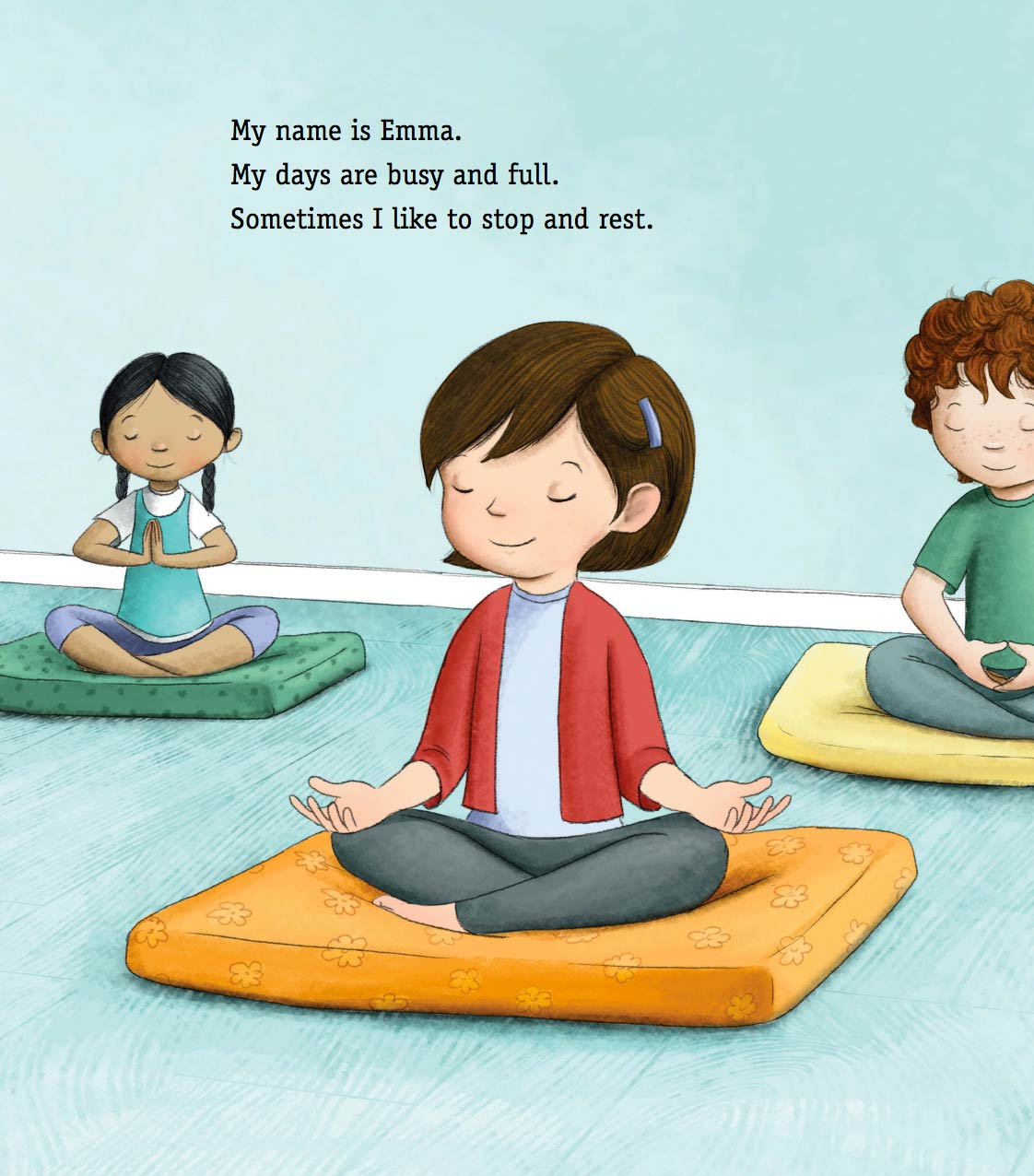 meditation mindfulness kids book sitting